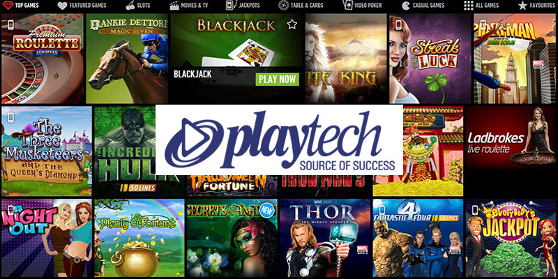 Playtech Casinos – 283+ Online Casino Slots now at Playtech