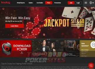 Bodog Poker Games