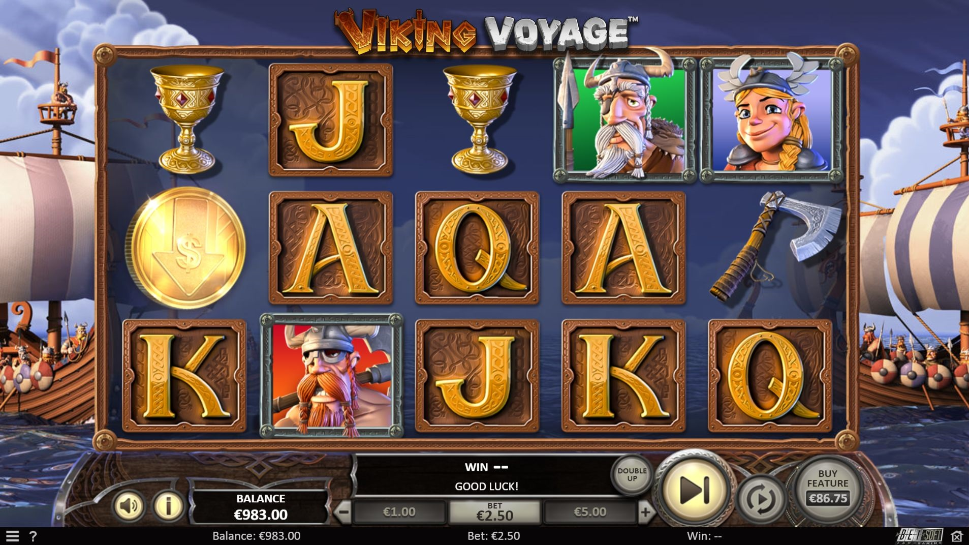 Betsoft Viking Voyage Slots Review and Bonuses