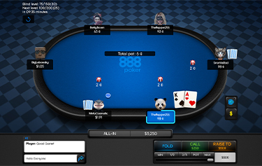 Real Money Poker  – Deposit & Get up to $400 –  888poker